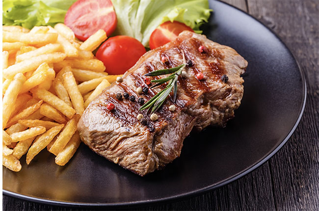 Steak-with-french-fries